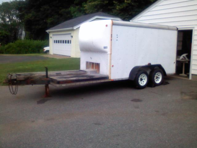 Wells Cargo Enclosed Trailer 18 Ft 12 Foot Box