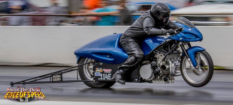 Hayabusa Based Drag Bike