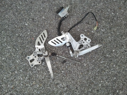07-08 GSXR 1000 radiator, wiring harness and more