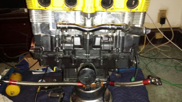 gsxr 1100 big block motor,nitrous, keihn carbs