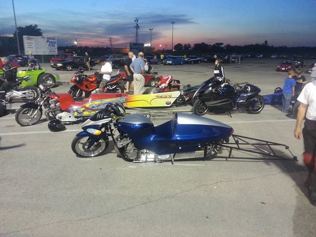 Cash For Car >> Trac dynamics hayabusa car tire drag bike.