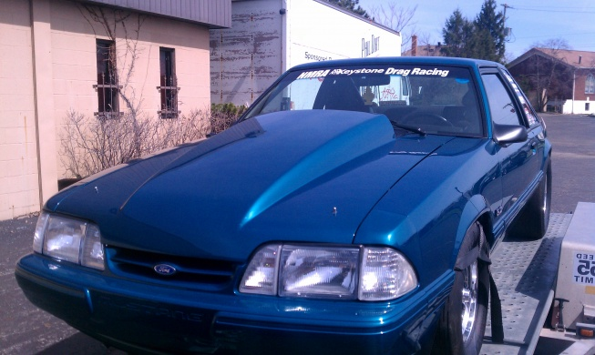 1993 mustang coupe gruge car 408 stroker motor