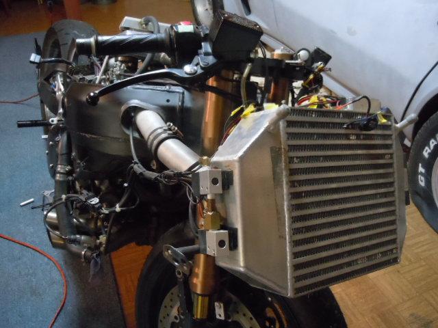 Gen 1 hayabusa turbo kit with intercooler