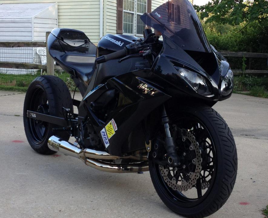 2010 Zx10r Track Bike