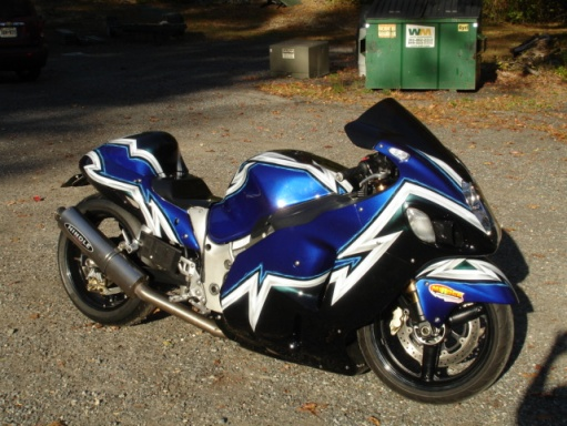 2006 Suzuki Hayabusa Custom Race Street Legal Bike