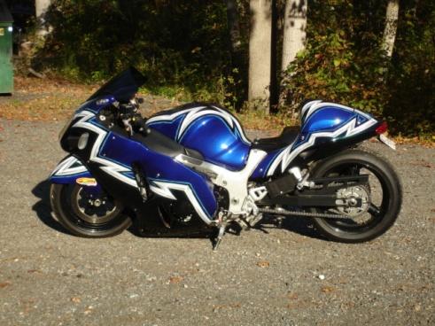 2006 Suzuki Hayabusa Custom Race Street Legal Bike