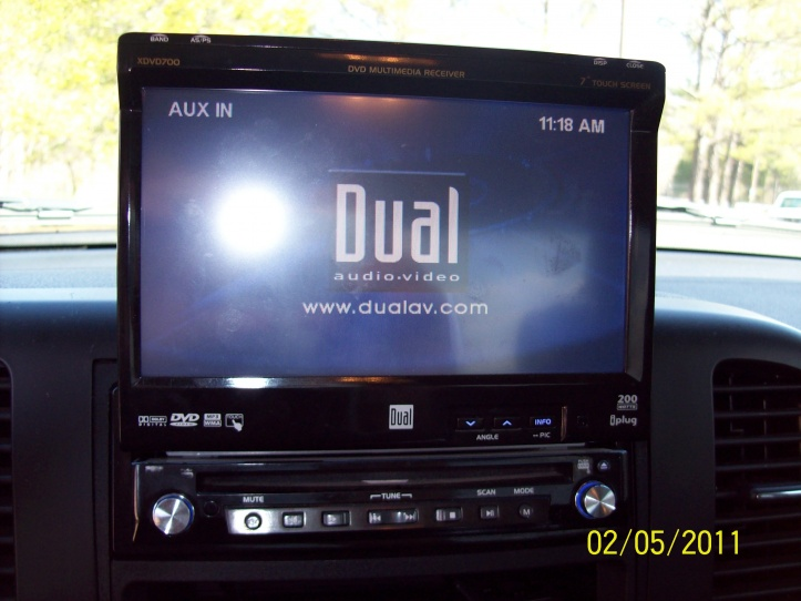 Dual Touch Screen Stereo Dual Touch Screen Radio