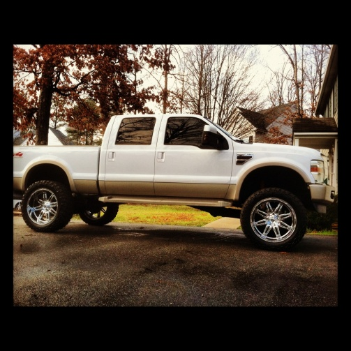 2008 F350 King Ranch Lifted On 24s