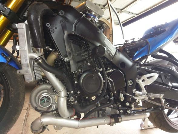 Turbo kit 07+ GSXR 1000