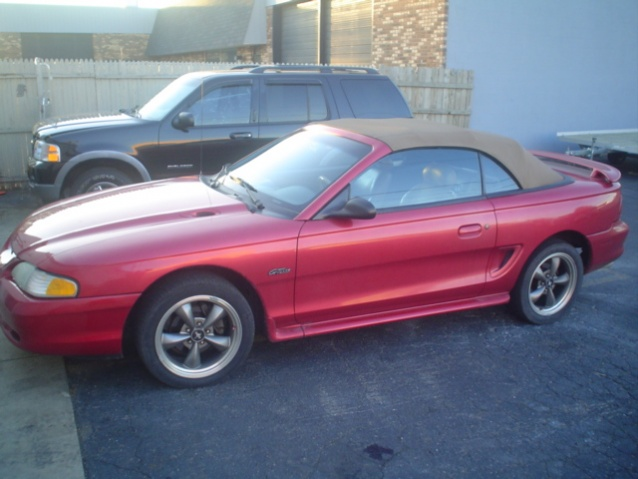 1996 Ford Mustang Gt 4 6l Convertible