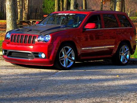 Jeep Cherokee Srt8 For Sale >> Jeep SRT8 Fiber Images Carbon Fiber Ram Air Hood