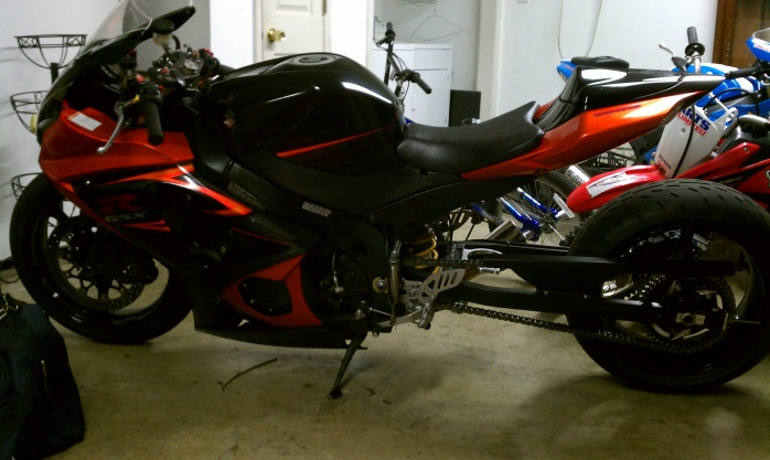 Motorcycles For Sale In Nc >> 07 GSXR 1000 Black & Orange