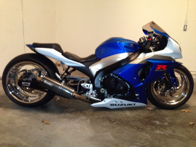 Fat Bike For Sale >> FAT TIRE 2009 GSXR 1000 VIN#JS1GT78A992101836