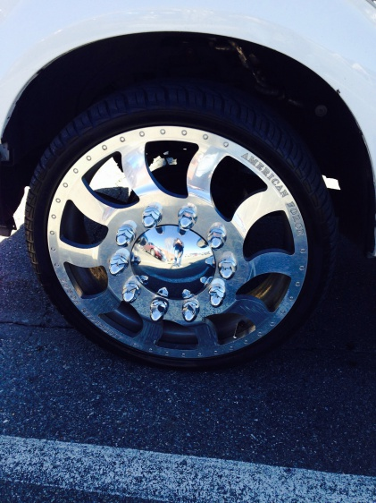 26inch American Force Dually Wheels And Tires Psychobike
