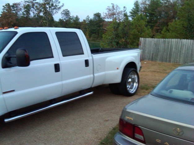 F350 Dually Wheels >> 2005 ford f-350 dually w/24 inch alcoa wheels