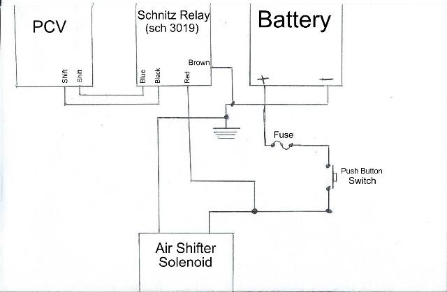 Pingel Air Shifter Wiring Diagram