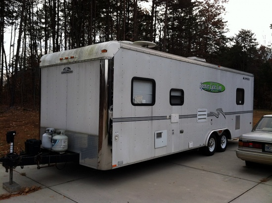 For Sale 26ft Race Trailer With Living Quarters