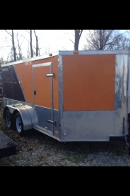 2009 road master V nose trailer...7x12 dual axle-photo.jpg