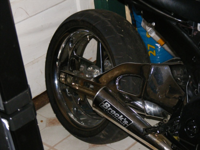 Gsxr Extended Swingarm Picture