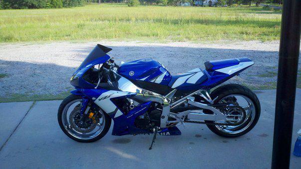 2002 Yamaha R1 Chrome!