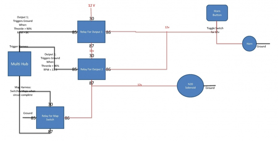 nitrous wiring diagram wiring diagram and schematic design basic nitrous wiring diagrams in forum