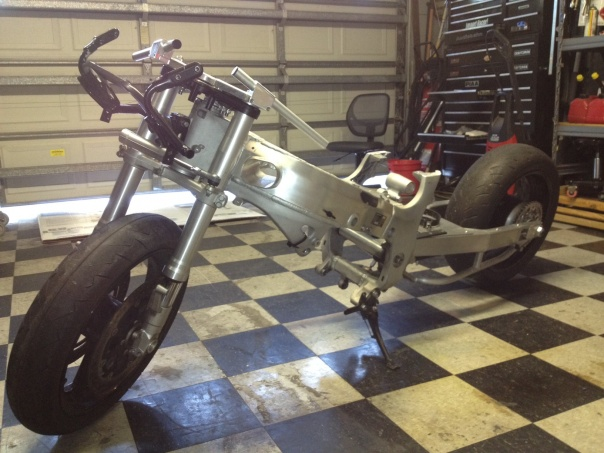 2002 Hayabusa Rolling Chassis Clean Title