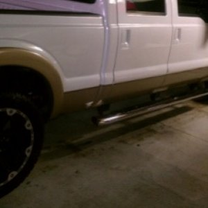 "my old f250 with 22"" Dick Cepek's and Toyo OpenCountry AT's"